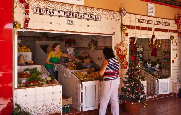 Mercado de Nuestra Señora de África, Santa Cruz de Tenerife, Canarias